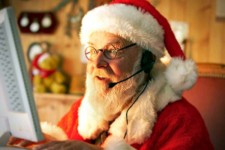 Santa Goes High-Tech