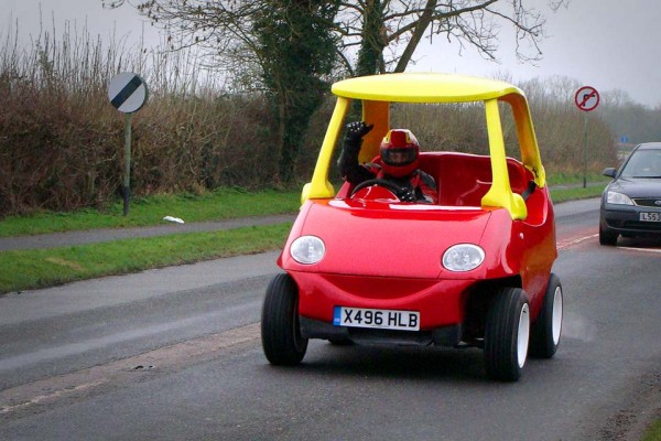 I Really Want to Drive This 'Little Tikes' Car. And I'm a Grown-Ass Man.
