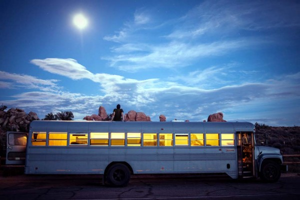 An Architecture Student Bought a Bus and Turned It Into This Beautiful Creation. Wow.