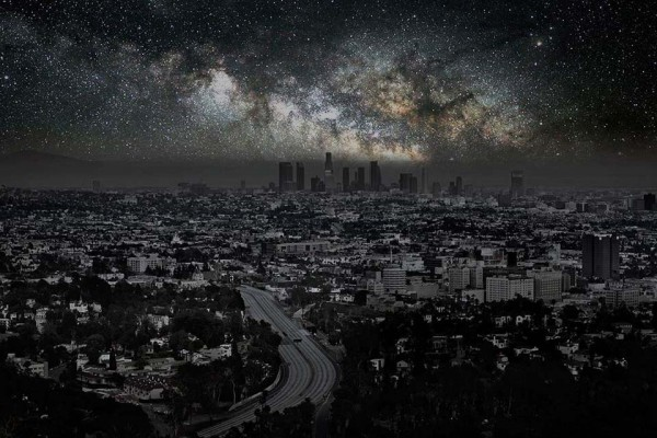 Here Are 6 Haunting Photos of the Night Sky During Massive Blackouts. #4 Is Mind-Blowing.