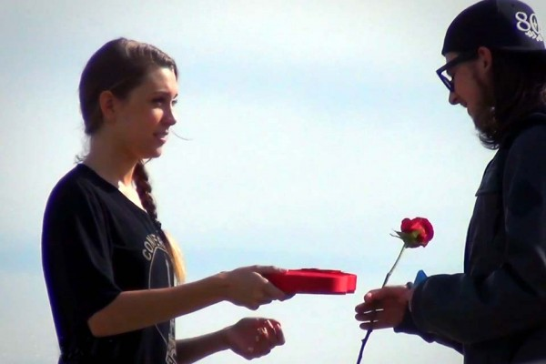 A Cute Girl Asks Random Strangers to Be Her Valentine. Hilarity Ensues.