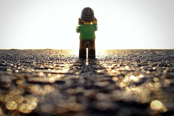 These 18 Creative Photos of the 'Lego Man' Will Blow Your Mind. Especially #8.