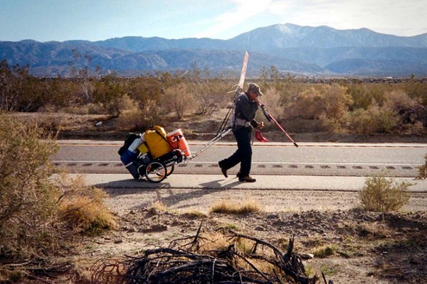One of the Most Inspiring Things a Man Can Do Is Walk Across America 7 Times for This.