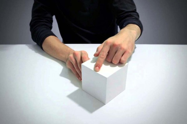 Grab a Piece of Paper. Now Fold It Into a Box. Now Watch This Man Completely Blow Your Mind.