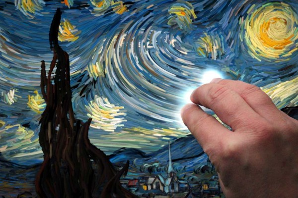 At First, This Looks Like a Van Gogh Masterpiece. And It Is. But Watch for 30 Seconds and... Whoa!