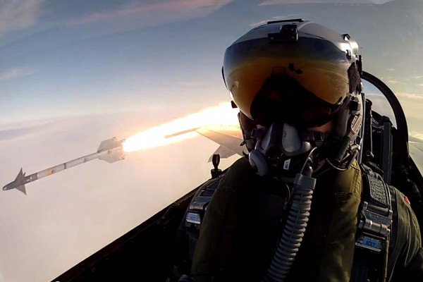 This Might Be the Most Badass Selfie Ever Taken. Ever.