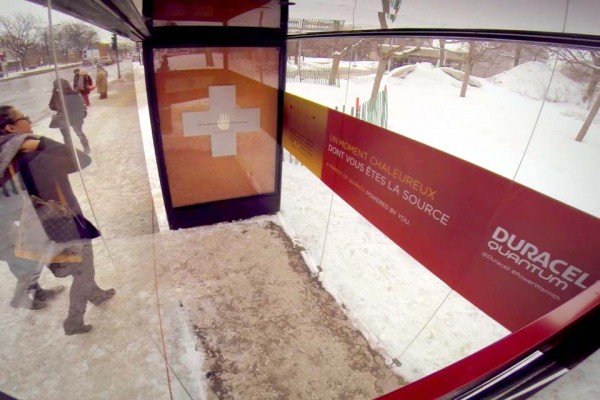 See How This Bus Stop Warms Your Hands… and Your Heart.
