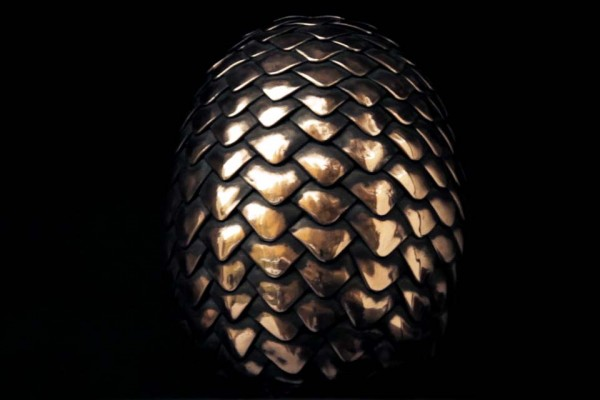 The Way This Dragon Egg From 'Game of Thrones' Is Made Is Kind of Incredible.
