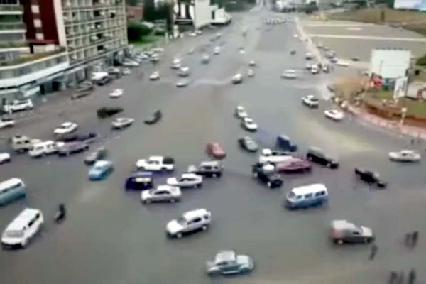 If You Can Drive Through This Insane Intersection, You Can Drive Anywhere In the World.