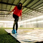 This Girl Is Really Bad at Soccer. But What She Paints With a Ball and Her 2 Feet Will Amaze You.