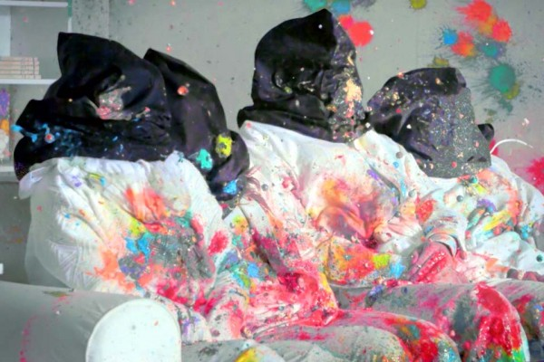 Watch a Family of 4 Get Shot by 3,192 Paintballs to Prove a Powerful Point.