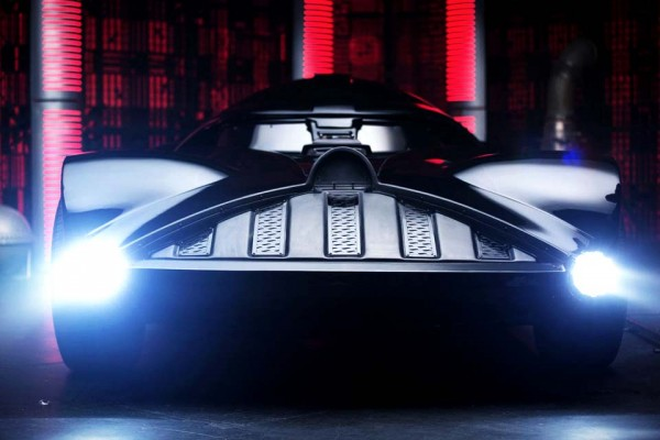 Darth Vader Has a Car. What It Can Do Will Leave You Breathless.