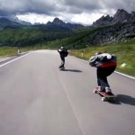 Skateboarding Down a Mountain Is As Insane As It Sounds. Bring Your Courage.