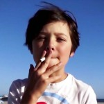 Leave It to a 9-Year-Old With a Cigarette to Show Smokers How Stupid They Are.