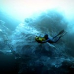 This Guy Nearly Died to Swim In an Iceberg. And the Results Are Impossibly Beautiful.